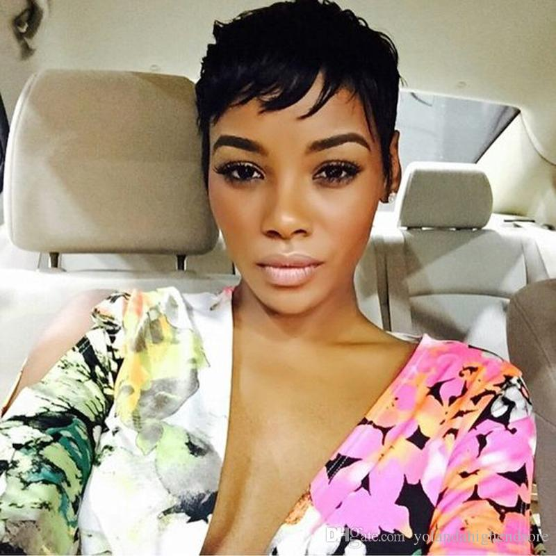 2017 Newest Short Human Hair Wigs Pixie Cut Rihanna Style Cuts 7a Brazilian  Human Hair Wig With Baby Hair Beehive Wig Internet Wigs From  Yolandahighendsore 295a5e84fecc