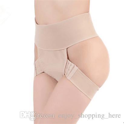 shapewear glutei Donne Butt Lifter Controllo Mutandine Tummy Lift Booster Booty Glutei Enhancer Body Shaper Dimagrante Biancheria intima regolabile