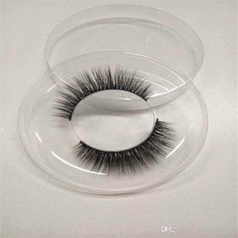 3D silk eyelashes 100% handmade 3d silk lashes extension Popular Sale Lashes for Daily make up