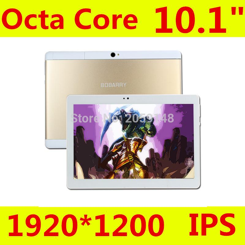 Wholesale- Promotion 10.1 Inch S109 Tablet Computer BOBARRY Tablet PC Octa Core Android 6.0 Tablet pcs IPS Screen GPS laptop Rom 32GB