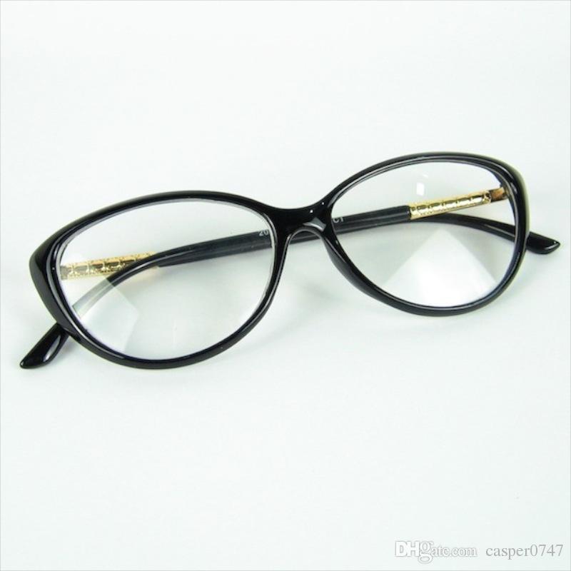 Cat Eye Succinct Curve Shape Optical Frame Women Love Fashion ...