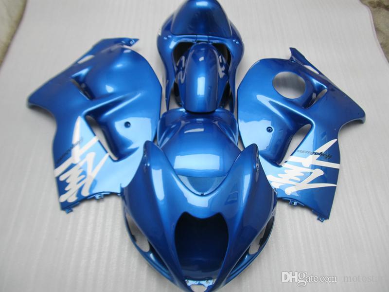 Motorcycle fairing kit for Suzuki GSXR1300 96 97 98 99 00 01-07 blue bodywork fairings set GSXR1300 1996-2007 OT37