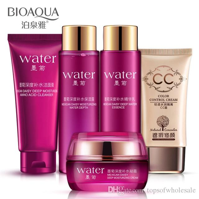 BIOAQUA Makeup Skin care Products Set Moisturizing Hydrating Nourishing Oil Control acne Lotion cosmetics