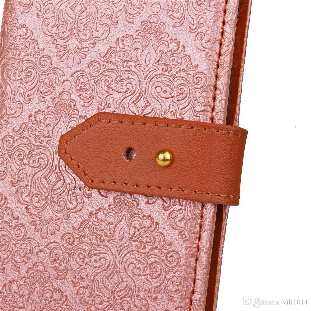 mural флип PU кожаный бумажник роскошный чехол Case для Samsung galaxy A3 A5 A7 S5 J3 S8 S6 S7 край J5 J7 премьер