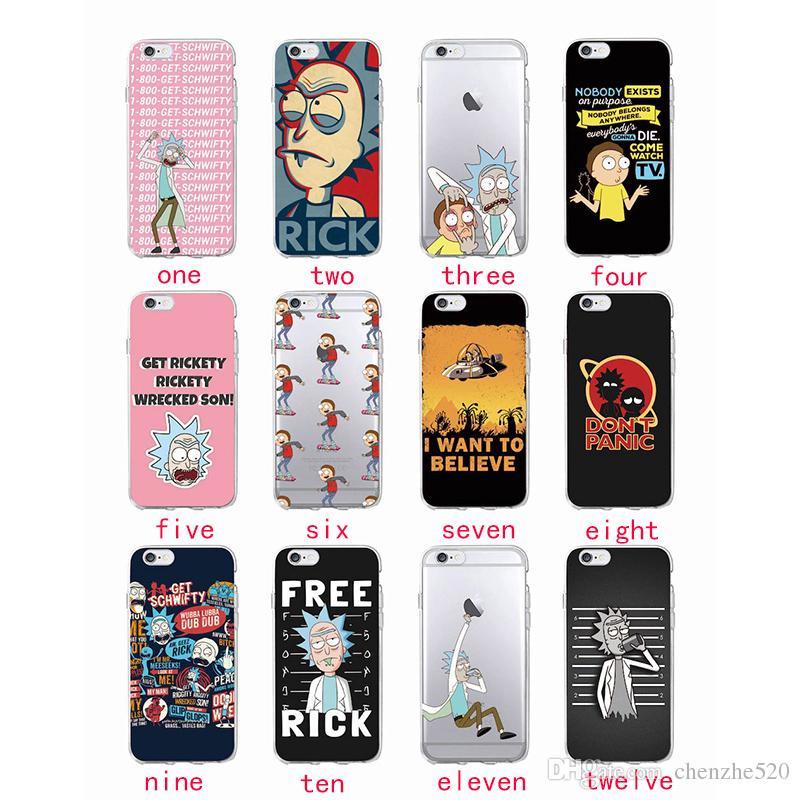 coque rick et morty iphone 6
