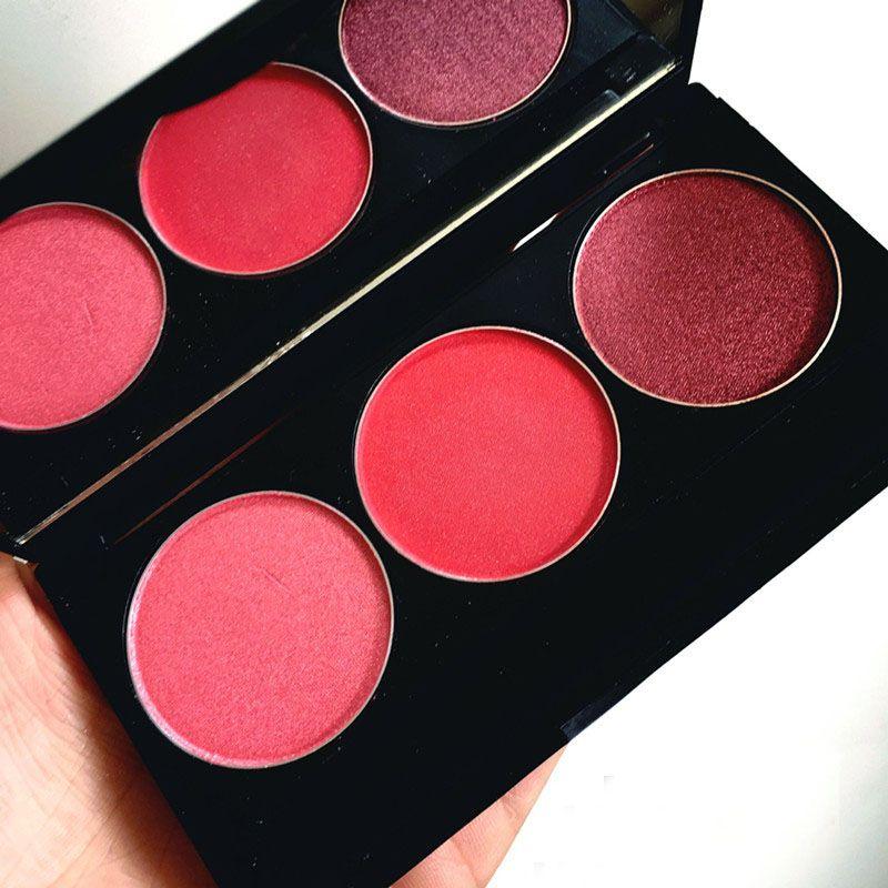 Newest Red Wine Red Rose Red Eyeshadow Palette Brand Baking Powder Eye Shadow Makeup Palette ...