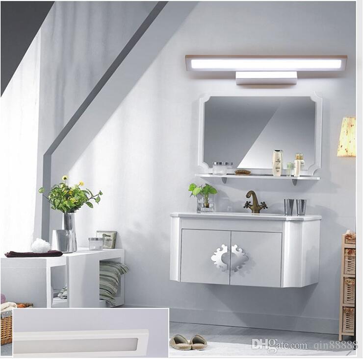 Bathroom Mirror Lamp 2017 led bathroom mirror front wall lamp lens/ark corridor