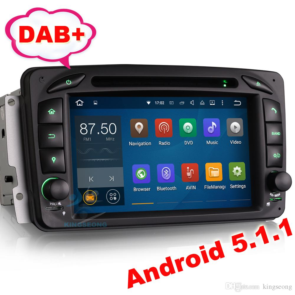 2018 Android 51 Car Dvd Gps Mercedes