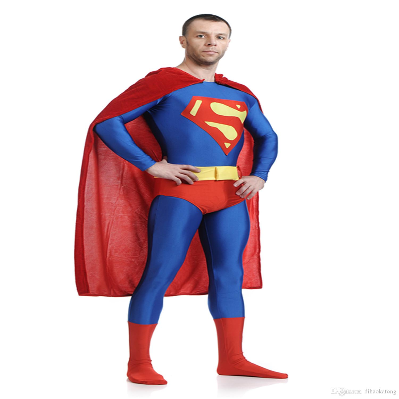 high quality adultchildren menswomens halloween red superman cosplay costumes lycra zentai superhero costume full body suit costume parties for adults - High Quality Womens Halloween Costumes