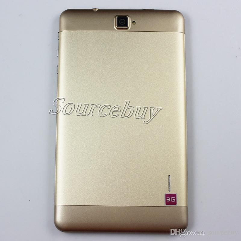 "Fast DHL 7 inch 7"" 3G Phablet Android 5.1 SC7730 Quad Core 8GB 512MB Dual SIM Phone Call WIFI Tablet PC Bluetooth"