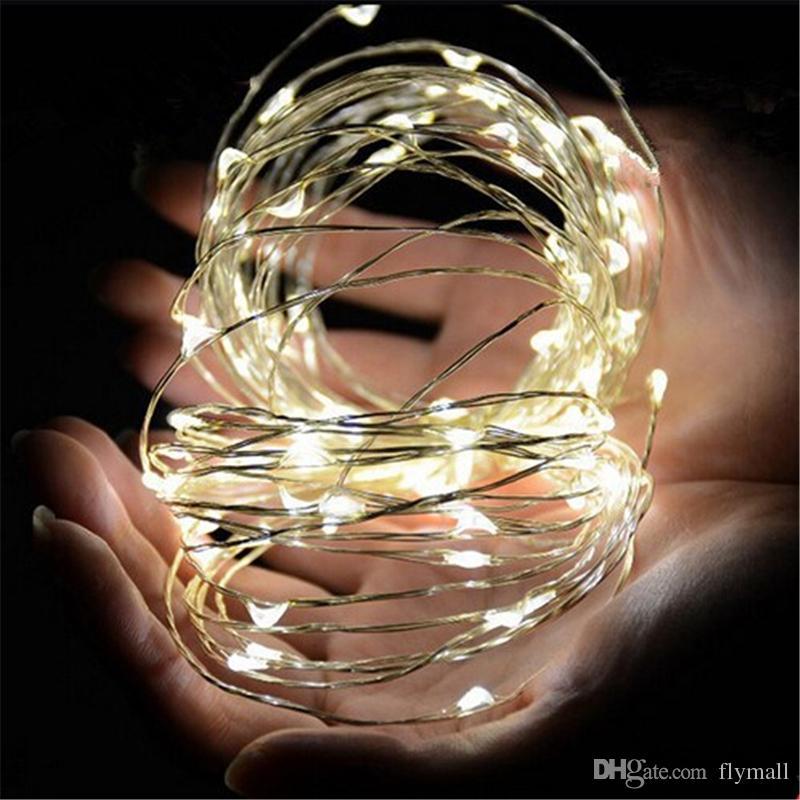 3M 30LEDs AA Batteriebetriebene Led String Mini LED Kupferdraht String Fairy Light Weihnachten Weihnachten Home Party Dekoration Licht Warm / Reinweiß