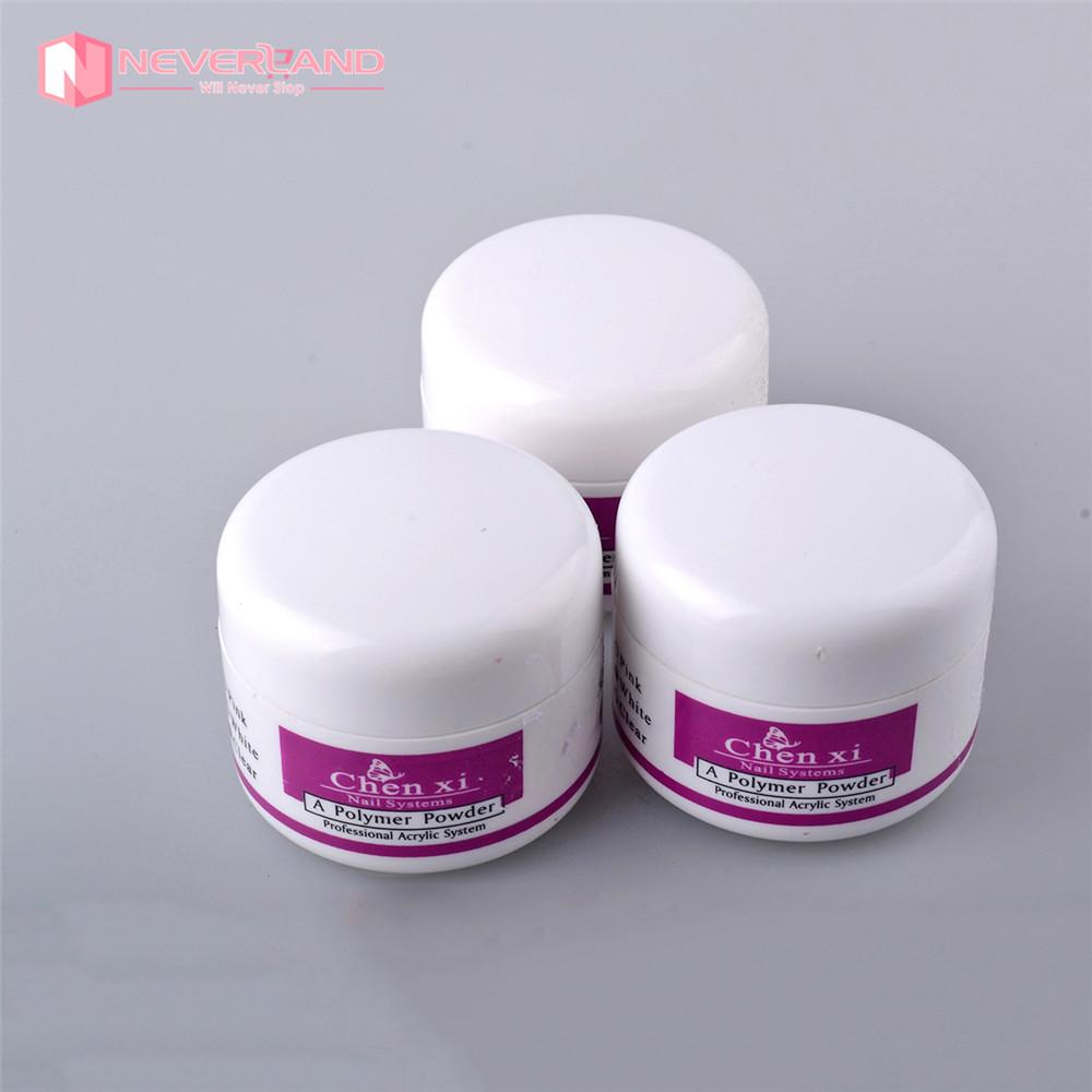 Wholesale New Acrylic Powder Builder Crystal Pink White Clear ...