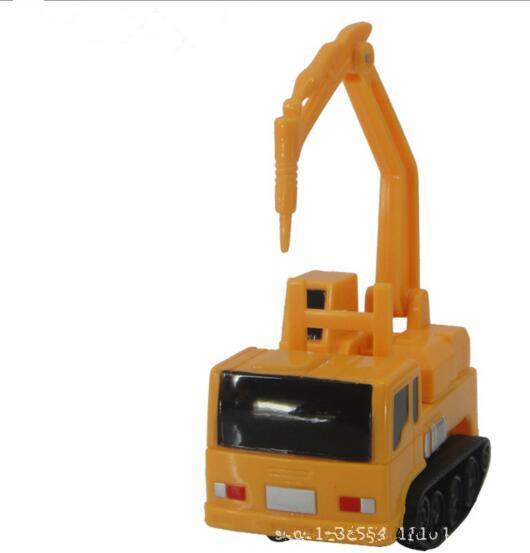 Mini Magic Pen Inductive Fangle Vehicle Toy Automatic Sensing Road Projec Car Novelty Item Children Engineering Car Toy