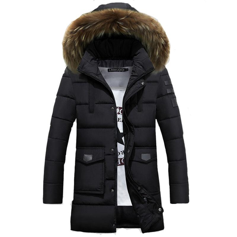 Wholesale Jacket Men Winter 2017 Coat Male Bomber Jacket Men Long ...