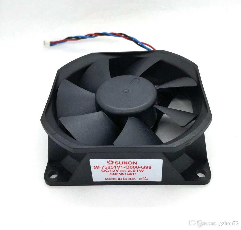 New Original SUNON MF75251V1-Q000-G99 12V 2.91W 75*75*25MM for PT-LW321EA Projector cooling fan