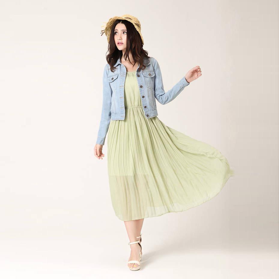 New Spring Summer 2017 Plus Size Vintage Cropped Denim Jacket Short Long  Sleeve Cardigan Coat Jeans Jacket Women Bomber Jacket Coat From  Applegloves fd35b91243cf