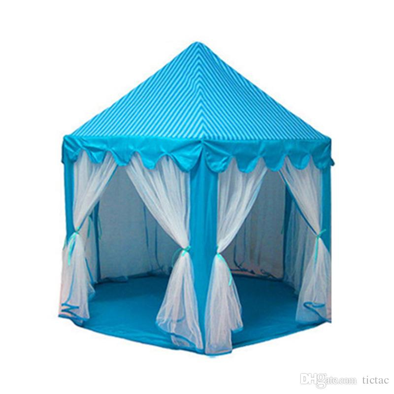 Portable Kids Play Tents Ultralarge Fencing for Children Baby Fence Girls Princess Castle Indoor Outdoor Toys House Playpens