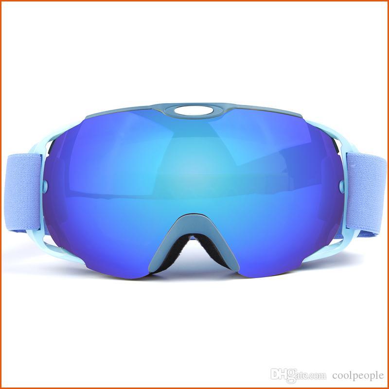 f51822622 Compre Óculos Polarizados Do Snowboard Do Esqui Óculos De Sol De Duas  Camadas UV400 Óculos De Proteção Do Anti Fog Óculos De Sol Da Máscara Do Esqui  Óculos ...