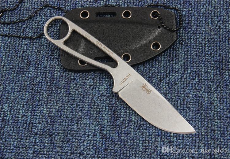 Meilleur Vale IZULA 12992 Droite Couteau D2 Lame Full Steel Lame Fixe Couteaux En Plein Air Survie Tacticla Couteau De Noël Cadeau F928L