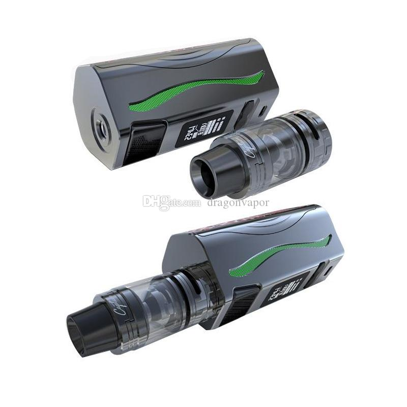IJoy Genie PD270 Kit 600mah 234W Genie PD270 TC Mod 4ml Captain S Tank RGB Backlight and LED Flashlight Function 100% Original