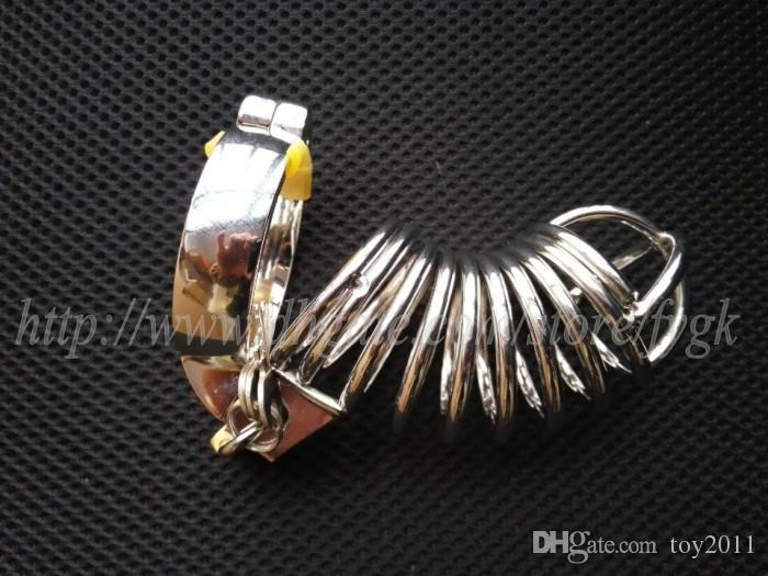 Chastity Device Metal Chastity Cage Stainless Steel Cock Cage Male Chastity Belt Penis Rings Bondage Restraints Sex Toys For Men