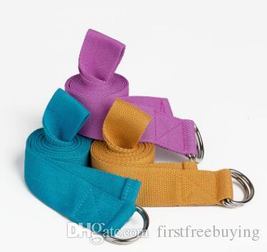 / lote Yoga Stretch Training Belt Cintura Perna de Fitness Ginásio de Fitness Figura Cintura Perna Para Mulheres Dos Homens