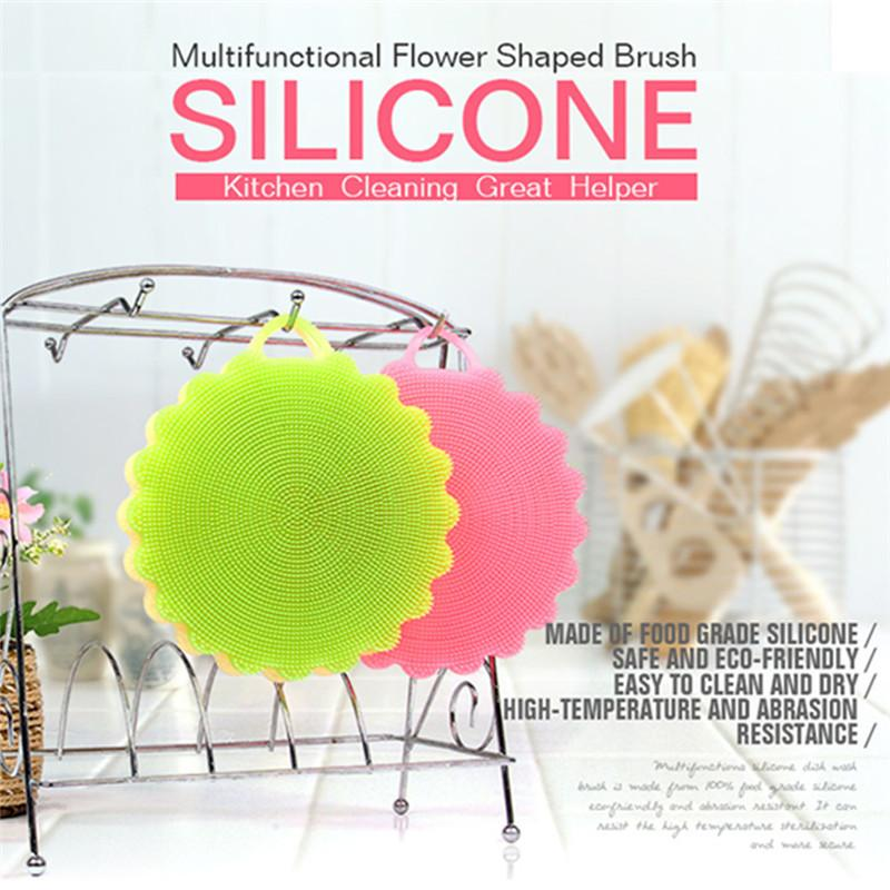 Best Wholesale Clean Kitchen Tool Silicone Kitchen Sponge Cleaning ...