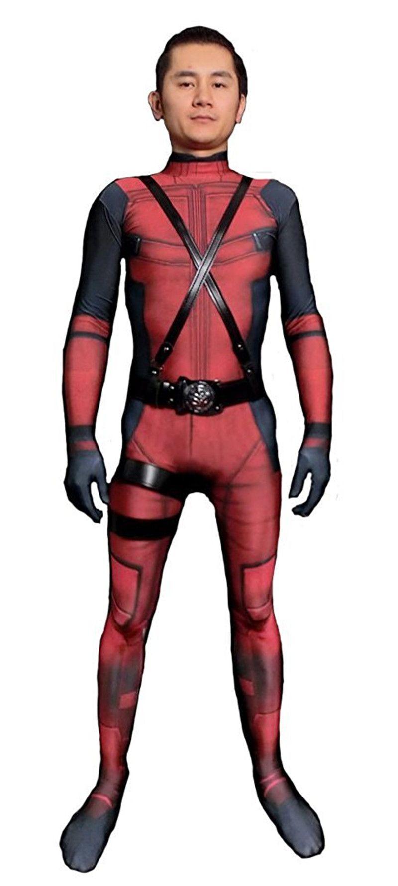 Malidaike Unisex Lycra Spandex Halloween Cosplay Costumes ...