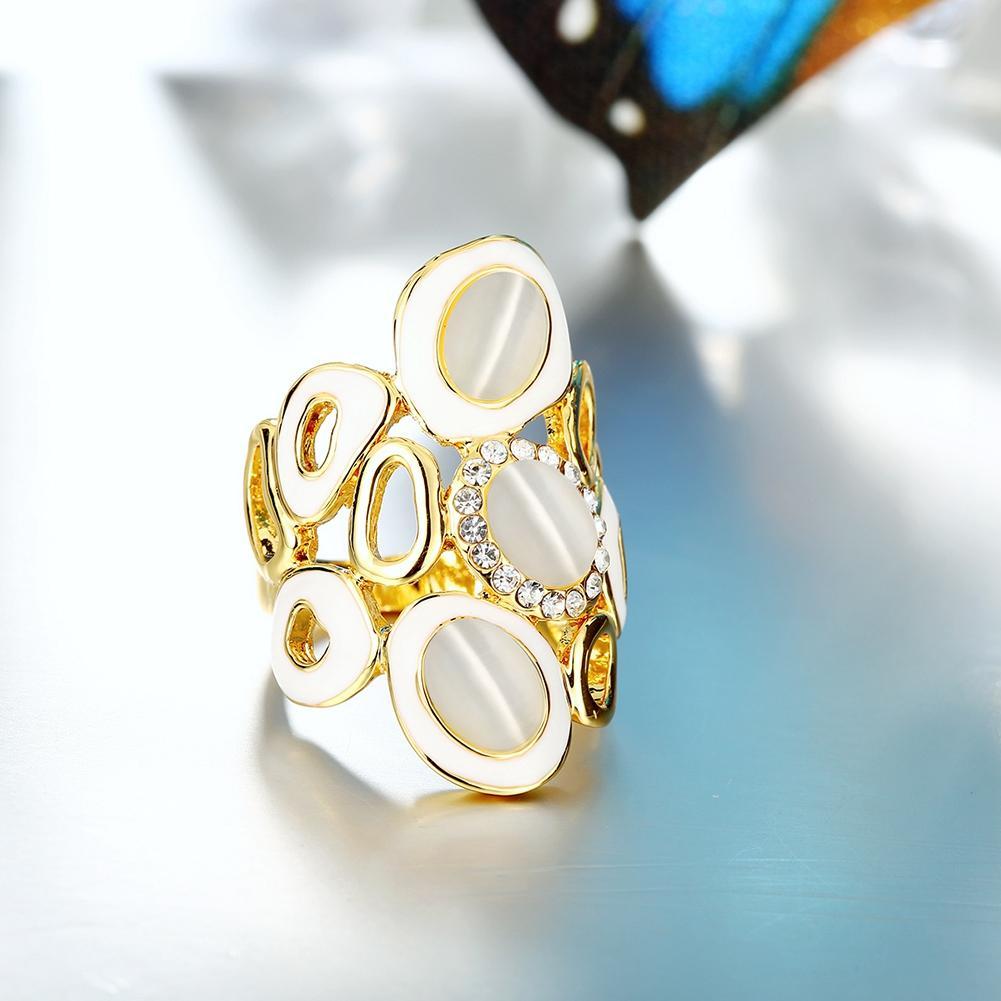 anillos pandora oro blanco