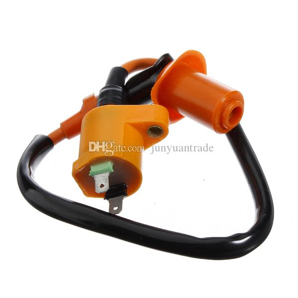 Performance ignition Coil FOR Gy6 50 125 150cc Spark Plug Wire Scooter  Moped ATV Go Kart