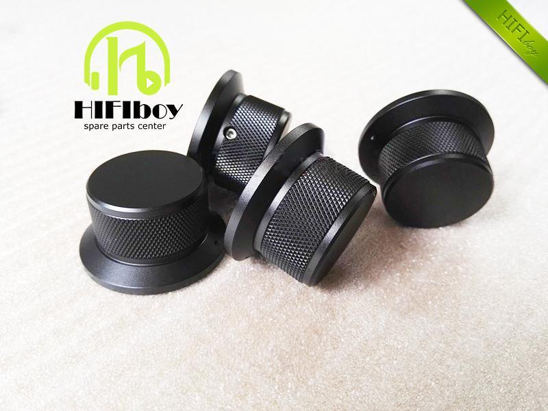 HIFI audio Aluminum Volume knob Diameter 44mm Height 25mm amplifier knob speaker knob