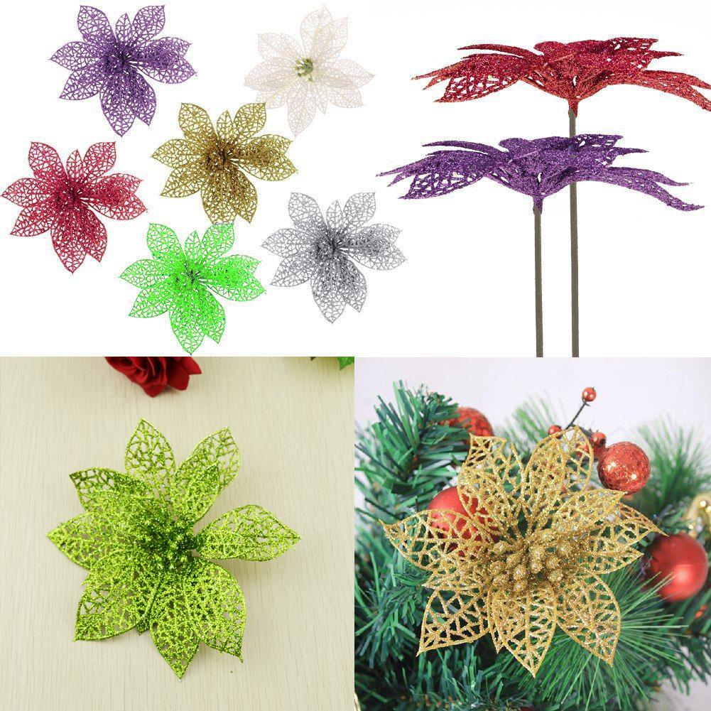 Wholesale Decorated Christmas Tree Ornaments Artificial Hollow