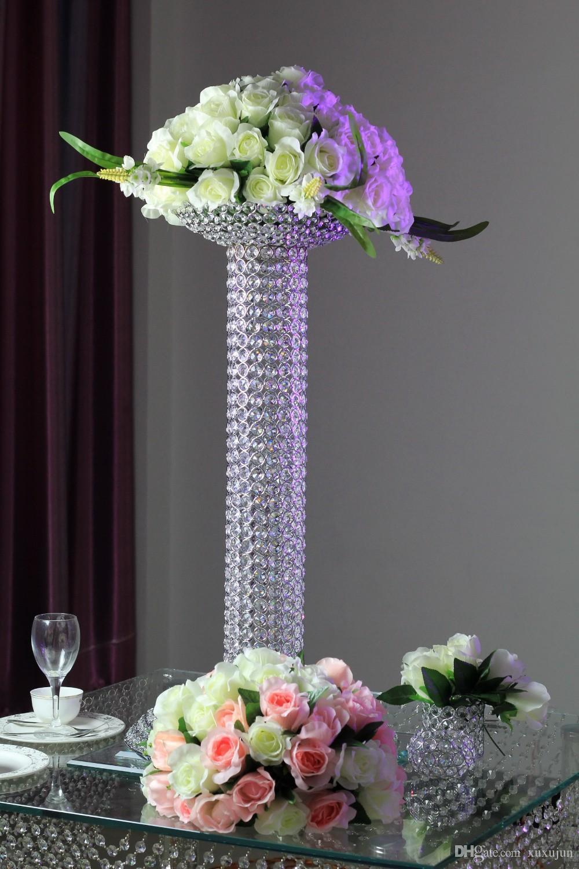 matrimonio centrale fiore di cristallo bling stare con la ciotola di casa celebrazione decorazione
