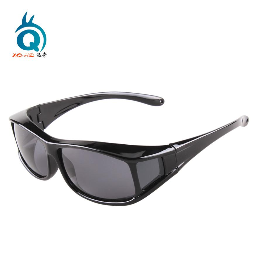 0cc96328a1c7 2019 Wholesale Polarized Lens Fit Over Sunglasses Wear Over Prescription  Glasses For Men And Women Size Middle Glasses With Protection Cases From  Johiny