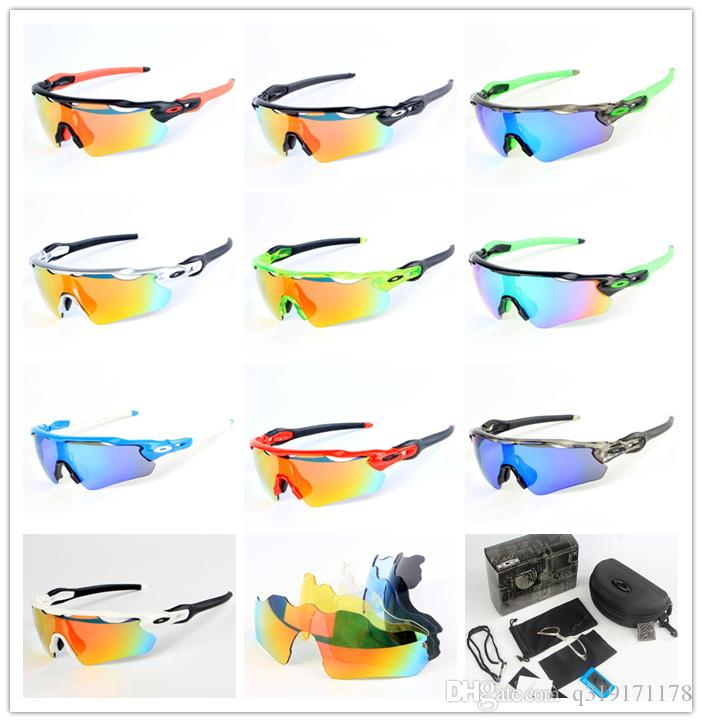 с 5 объектив 2018 Мода EV велоспорт очки спортивные очки открытый солнцезащитные очки Поляризационные женщины мужчины УФ 400 очки