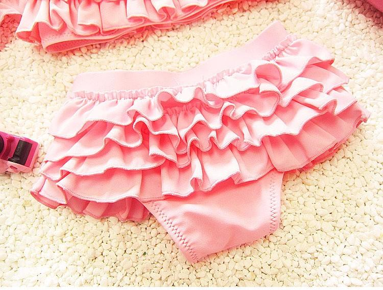 kids swimwear girls two pieces child swimsuit with ruffle mermaid tails for children bikini baby girl little girls swim suits