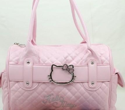 fae15d8970 Wholesale Luxury Famous Brand Women Female Ladies Casual Bags Leather Hello  Kitty Handbags Shoulder Tote Bag Bolsas Femininas Couro Leather Briefcase  ...