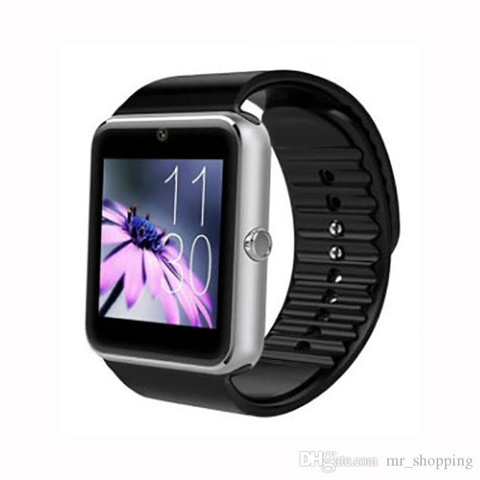Fabrika fiyat GT08 Akıllı Izle Wrisbrand Android Akıllı SIM Akıllı cep telefonu izle Uyku Tracker DZ09 U8 A1 ile de stokta