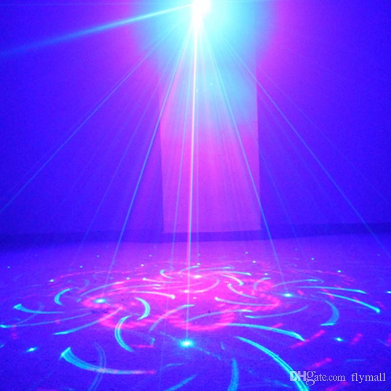 Suny RG 3 Lens 40 Patterns Mini Laser Projector Stage Light Blue LED Stage Lighting With Remote Control Show Disco DJ Party Lights Z40RG