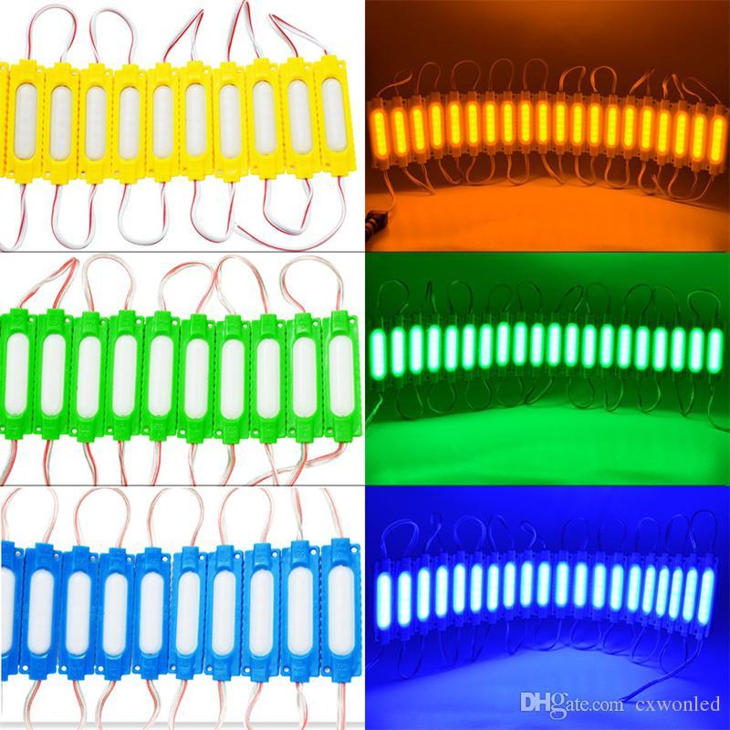 La inyección de 2.5W DC12V 6led SMD5630 llevó el módulo con la lente El módulo impermeable de la iluminación LED llevó las luces de fondo de la muestra para las letras de canal