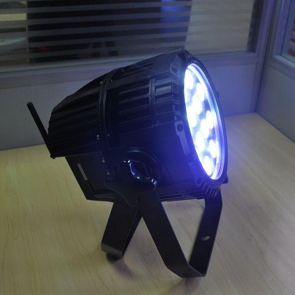 Freies Verschiffen bunte Beleuchtung DMX RGBW 4in1 batteriebetriebene Gleichheit LED 12x10W drahtlose LED Gleichheit im Freien kann