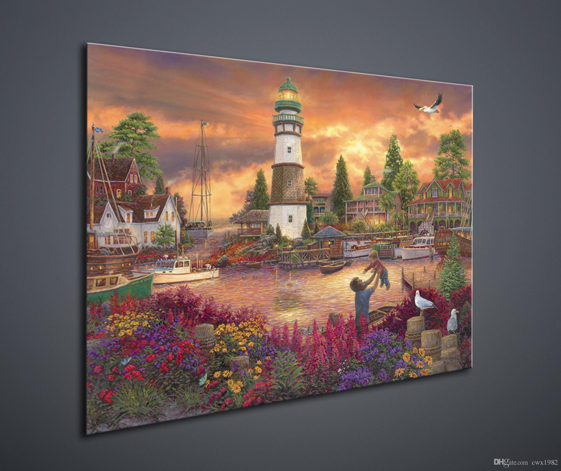 Hd Inkjet Scenery High Definition Home Decoration Canvas - Painting definition