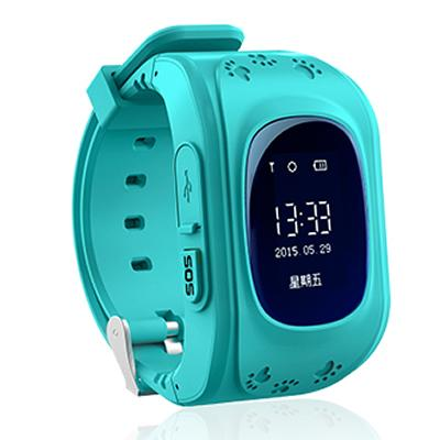 Wholesale- Original Q50 OLED screen Kids GPS Tracker Watch SOS Emergency Anti lost GPS watch Pedometer smartband Russian Q50 Q60 Q80 Q90 U8