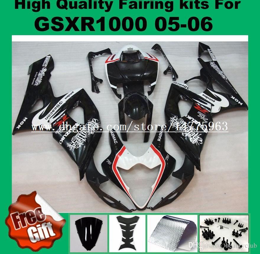 100٪ Fit fairings for SUZUKI 2005 2006 GSXR1000 GSX-R1000 05 06 Fairings kit GSXR 1000 2005 2006 2006