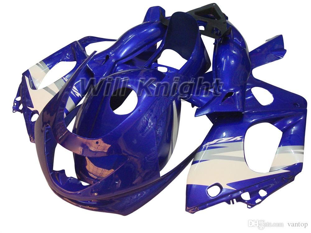 Kit de carenado de cuerpo completo para moldeado de inyección de motocicleta para YZF600R 97 - 07 Thundercat Cajetín de inyección de plástico ABS amarillo negro
