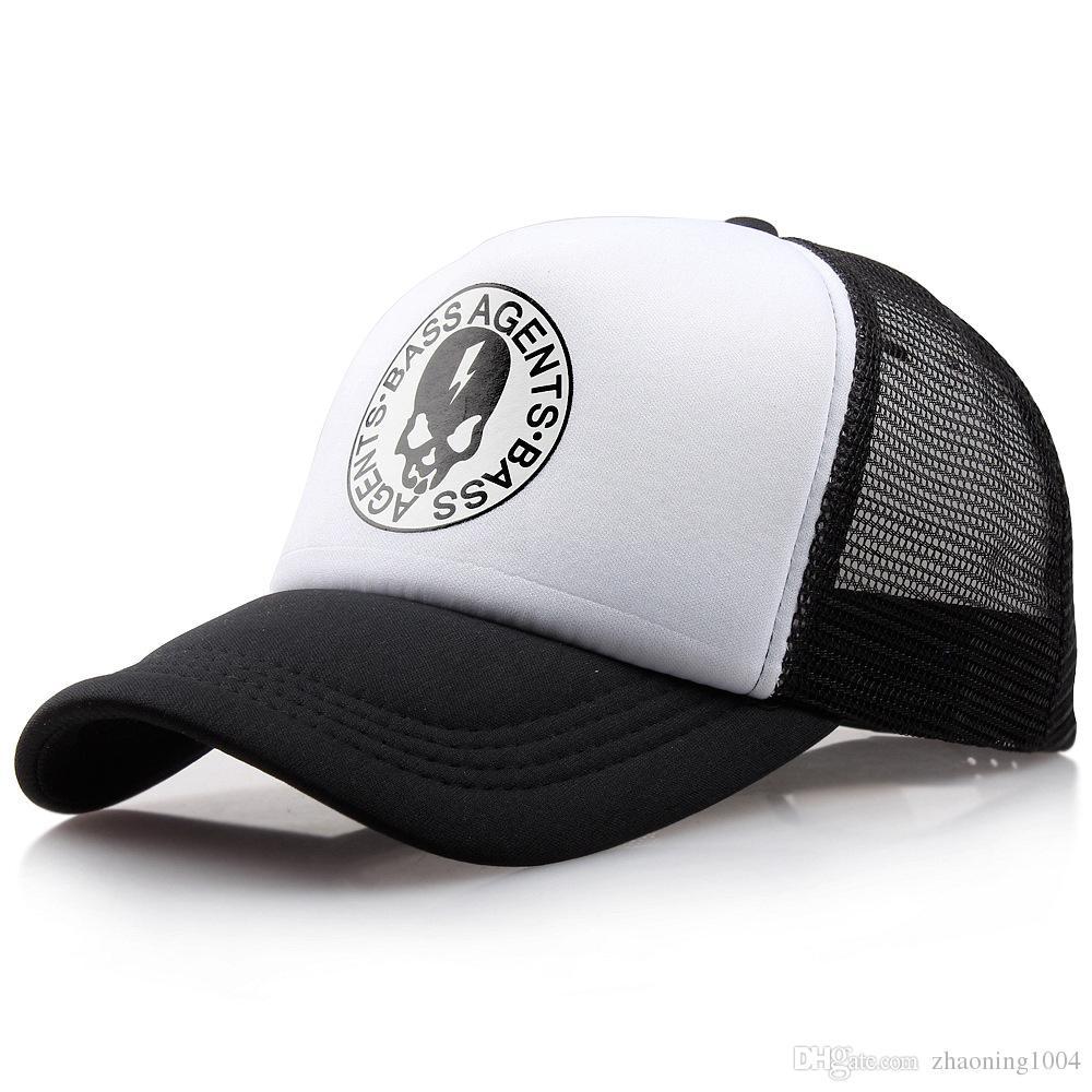 1cd25f4ce94e9 ... Adults Mens Womens Trucker Hats Man Woman Summer Skull Sun Visor  Adjustable Snapback Strapback Baseball Hat Hat Store From Zhaoning1004