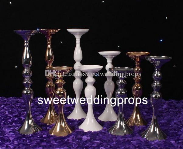 30 cm, neue luxus meerjungfrau blume stehen für hochzeitsdekoration metall eisen blume stand mittelstück event party dekoration