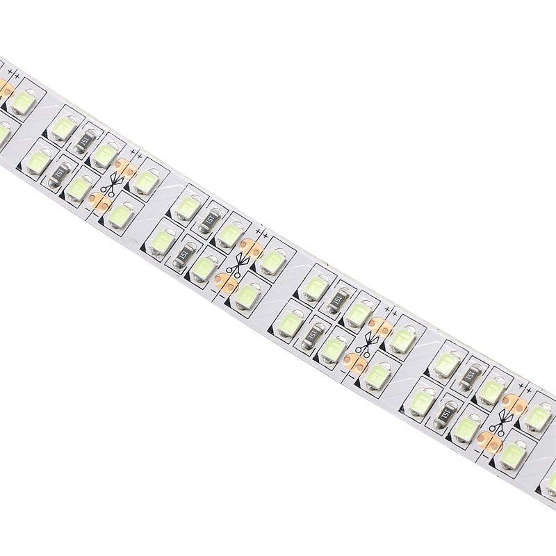 Nuovo arrivo SMD2835 Led Light strip 240leds / m doppia fila Ice Blue 15mm Non-impermeabile Fairy Light