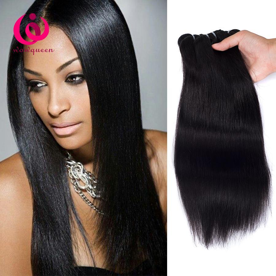 Cheap Mongolian Human Weave Hair Straight Wow Queen Hair Cheap