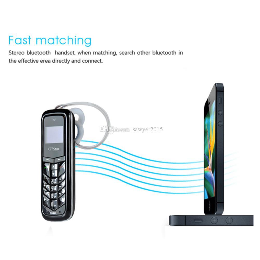 GTSTAR BM50 سماعة بلوتوث لاسلكية هاتف بلوتوث سماعة المسجل ستيريو صغير سماعة جيب الهاتف دعم بطاقة sim والاتصال الهاتفي
